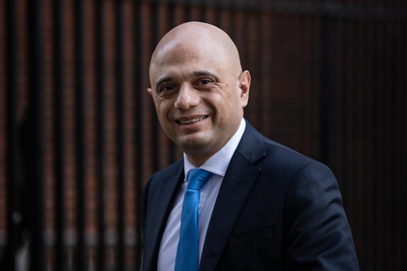 Former Chancellor Sajid Javid departs following the weekly Cabinet Meeting within number 10, Downing Street on February 06: Getty Images