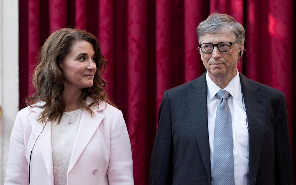 Mrs French Gates said she did not request any spousal support - Reuters