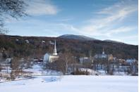 <p>Stowe, Vermont is the visual definition of quaint. </p>