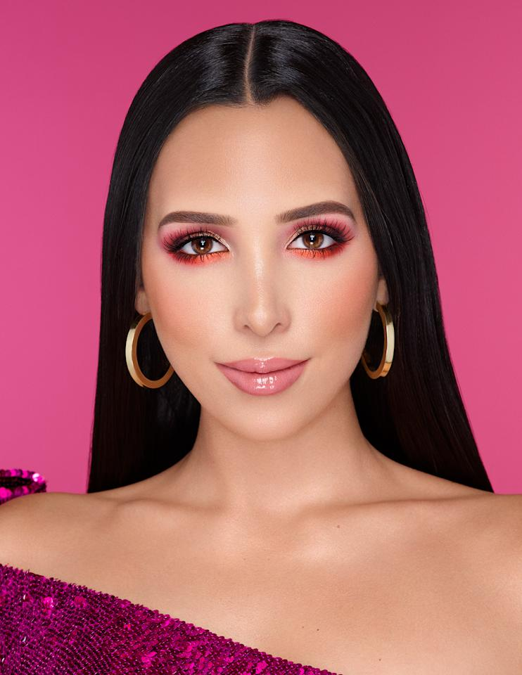 """<p>With show-stopping shades like """"Chili"""" (a metallic red shimmer that has flecks of pink sparkle), """"Amorcito"""" (a matte hot pink designed to be used on the cheeks as a blush) and """"Chica"""" (the perfect warm-toned matte brown), Venezuelanbeauty influencer <a href=""""https://www.instagram.com/mariale/?hl=en"""">Mariale's</a> limited-edition collaboration with Too Faced is not your average eyeshadow palette. </p> <p>Amor Caliente is packed with highly pigmented mattes, metallic shimmers and one pressed glitter, inspired by the colors <a href=""""https://www.youtube.com/c/JustMar/featured"""">Mariale</a> loves most. """"[The palette] started with """"Amorcito."""" I knew I wanted a true bright pink, and then we built it from there,"""" she tells PEOPLE. """"""""Chancla"""" (which translates to """"sandal"""") is one of my favorite shades because it's a beautiful pressed glitter — it goes on so smooth with such an intense payoff!""""</p> <p><strong>Buy It!</strong> Mariale Amor Caliente Eyeshadow Palette, $42; <a href=""""https://www.toofaced.com/product/23483/76769/eye-makeup/eye-shadow-palettes/amor-caliente/eye-shadow-and-cheek-pressed-pigment-palette?clickid=1d%3AyMEShdxyOR7l05-R4sULoUkiXy818EQyNWg0&irgwc=1&utm_content=2438527&utm_medium=affiliate&utm_source=ir"""">toofaced.com</a></p>"""