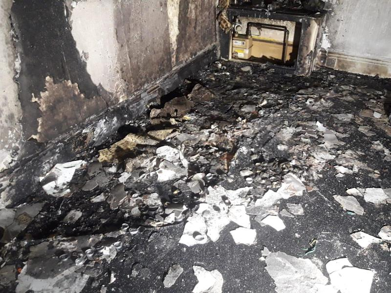 A man who left hundreds of tea light candles burning in preparation for a marriage proposal returned to find his flat in Sheffield on fire: South Yorkshire Fire and Rescue