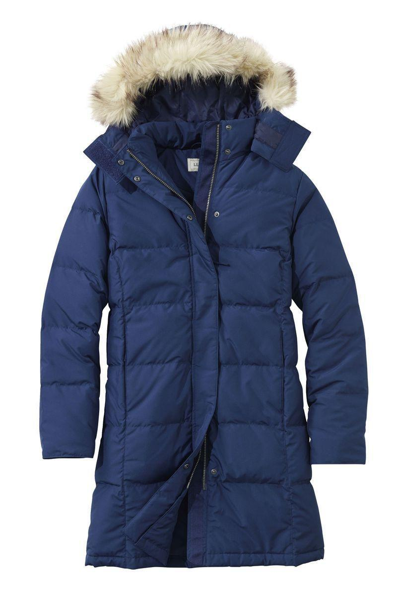 "<p><strong>L.L.Bean</strong></p><p>llbean.com</p><p><strong>$239.00</strong></p><p><a href=""https://go.redirectingat.com?id=74968X1596630&url=https%3A%2F%2Fwww.llbean.com%2Fllb%2Fshop%2F42358&sref=https%3A%2F%2Fwww.goodhousekeeping.com%2Fclothing%2Fwinter-coat-reviews%2Fg2273%2Fhighest-rated-womens-winter-coats%2F"" rel=""nofollow noopener"" target=""_blank"" data-ylk=""slk:Shop Now"" class=""link rapid-noclick-resp"">Shop Now</a></p><p>This mid-length style is perfect for the cold temperatures, but it's also available in <a href=""https://www.llbean.com/llb/shop/42359"" rel=""nofollow noopener"" target=""_blank"" data-ylk=""slk:full-length"" class=""link rapid-noclick-resp"">full-length</a> or <a href=""https://www.llbean.com/llb/shop/44802"" rel=""nofollow noopener"" target=""_blank"" data-ylk=""slk:shorter"" class=""link rapid-noclick-resp"">shorter</a> options depending on how much coverage you need, all of which are available in regular, plus and petite sizes. The two-way <strong>zipper is covered with a flap that snaps in place</strong> <strong>to keep your middle extra toasty.</strong> In addition to its 650-fill-power down warmth, its polyester shell is water-repellant and stain-resistant. The faux-fur trim is removable and the coat is both machine washable and dryer safe. </p>"