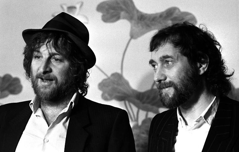 Chas and Dave pictured in 1984. (Photo: PA Wire/PA Images)