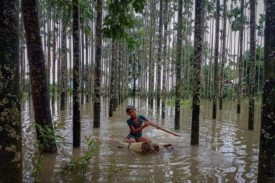A climate activist from Bangladesh, a country recently affected by flooding, said vulnerable countries were being 'completely ignored' (AFP via Getty Images)