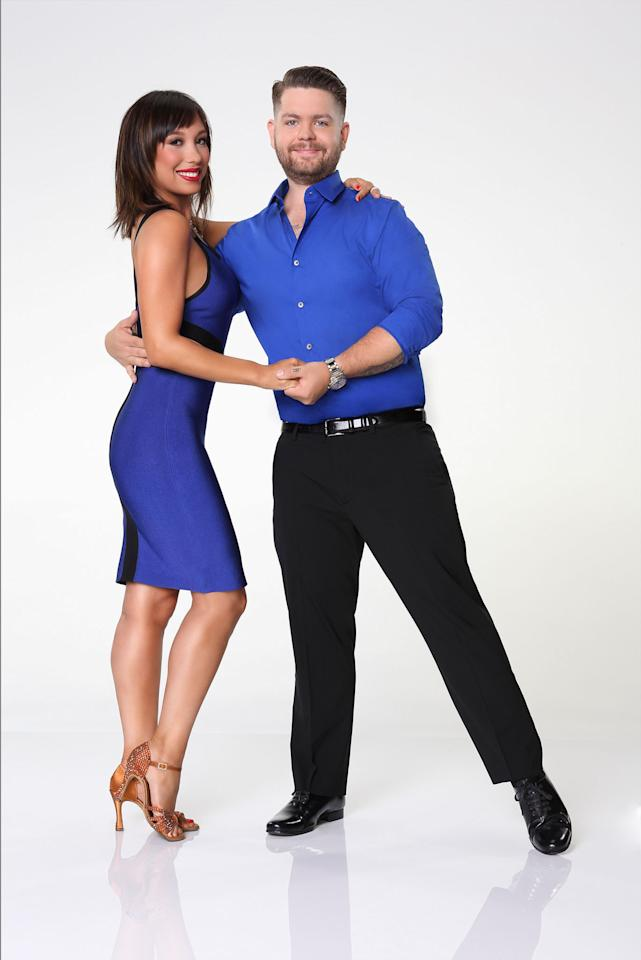 "Jack Osbourne partners with Cheryl Burke on ABC's ""Dancing With the Stars"" Season 17."