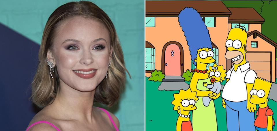 Popstar Zara Larsson says which show she prefers to classic staple The Simpsons. (Credit: REX/Fox)