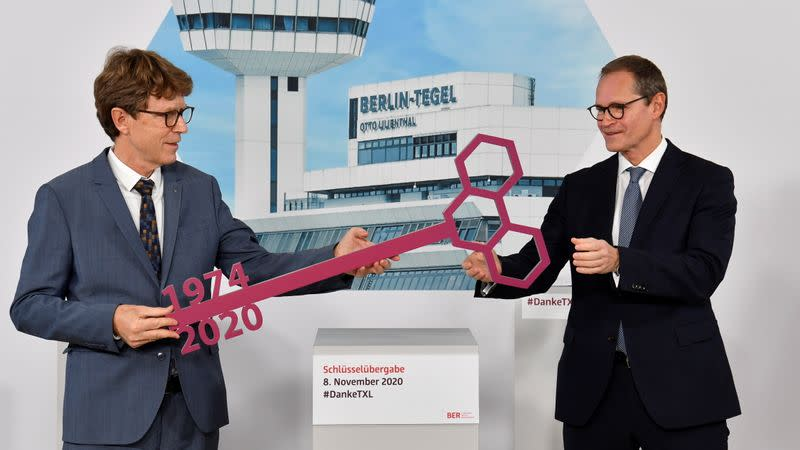 Berlin's Tegel airport sees its final departure before closure