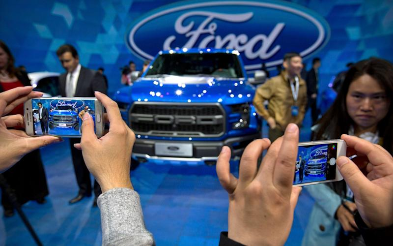 Ford is targeting China's fast-growing electric car sector - AP