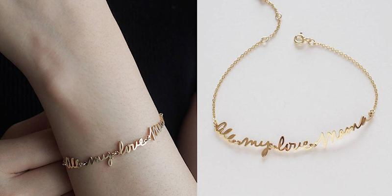 ON SALE: This Top-Selling Custom Bracelet Is the Perfect Mother's