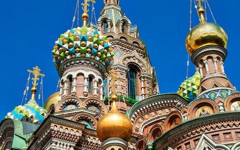 Church on the Spilled Blood in St Petersburg - Credit: iStock