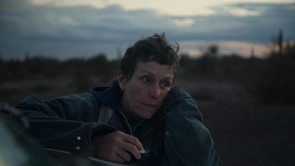 <p> <strong>Release date:&#xA0;</strong>February 19, 2021 (UK + US) </p> <p> Set in the aftermath of the 2008 financial crash, Frances McDormand plays Fern, a woman who&#x2019;s still reeling after losing both her husband and her home. Widowed and homeless, she now lives in a van, travelling from town to town looking for whatever work she can get. The movie is based on the real-life experiences of modern-day American nomads, whose stories were documented by Jessica Bruder in her book, Nomadland: Surviving America in the Twenty-First Century. It&#x2019;s the third feature from Zhao, whose previous movies include 2017&#x2019;s contemporary western The Rider. We predict Oscar nominations a-plenty. </p>