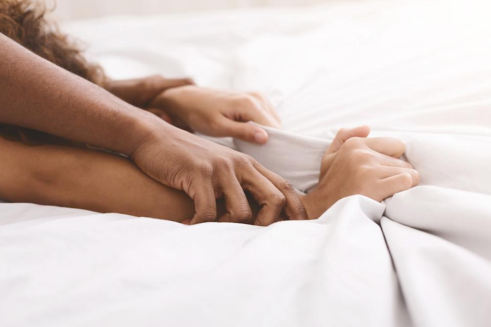 Some people are feeling scared about getting intimate after lockdown. (Getty Images)