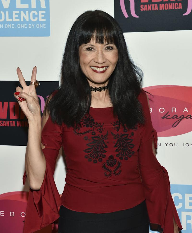 Actress and comedian Suzanne Whang, pictured here on Feb. 17, 2018, has died at 56. (Photo: Rodin Eckenroth/Getty Images)