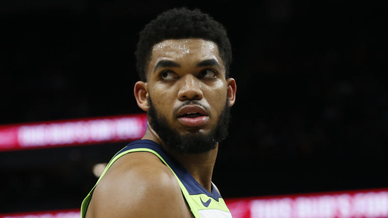 Timberwolves Karl-Anthony Towns Out vs. Knicks After Car Crash