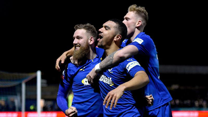 AFC Wimbledon stun West Ham to secure famous FA Cup win