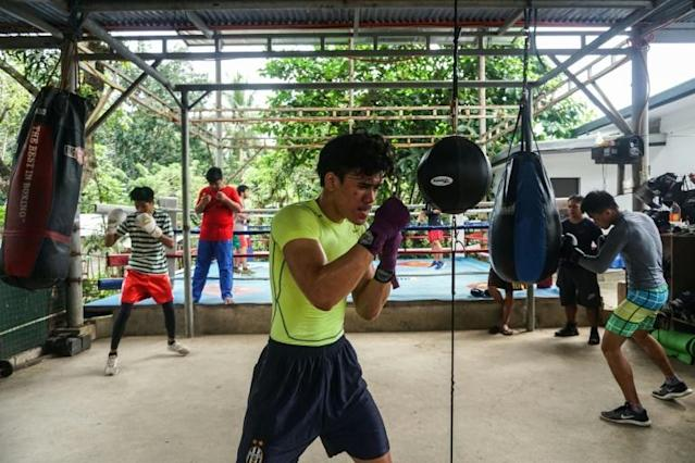 Each fighter is an investment -- and a gamble -- for the coach (AFP Photo/DANTE DIOSINA JR)