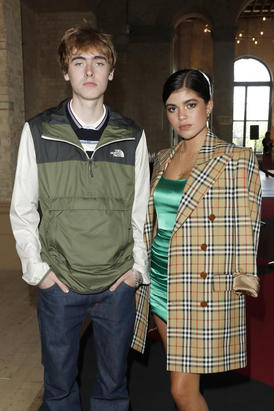 """Lennon Gallagher and Molly Gallagher attend the World Premiere of """"Liam Gallagher: As It Was"""" at Alexandra Palace on June 06, 2019 in London, England. (Photo by David M. Benett/Dave Benett/WireImage)"""