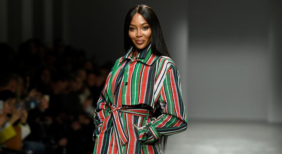 Naomi Campbell has surprised fans by sharing her entire workout session on Instagram. (Getty Images)
