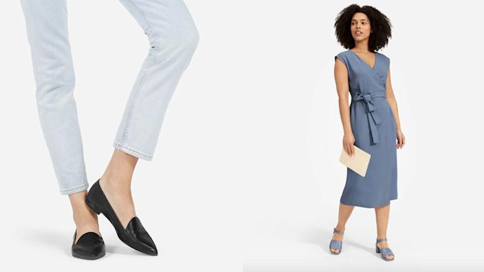 At Everlane, you can still grab some amazing products with the