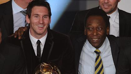 Messi hasn't won a World Cup like Pele, but he's played against the world's best in Europe.