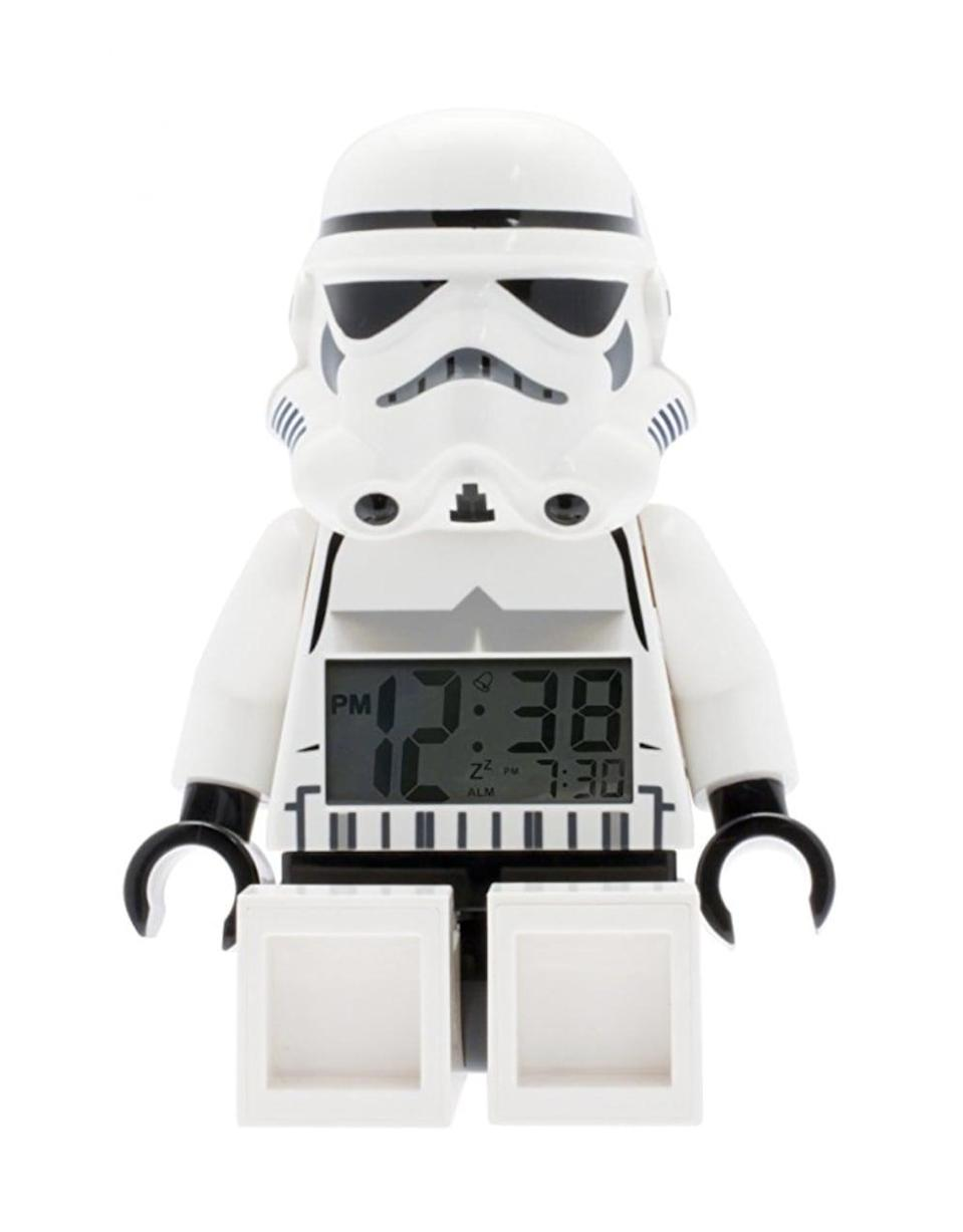 <p>Wake him up Star Wars-style and he'll always be in a good mood, so get him the <span>Lego Star Wars Stormtrooper Figurine Alarm Clock</span> ($30) this holiday season.</p>