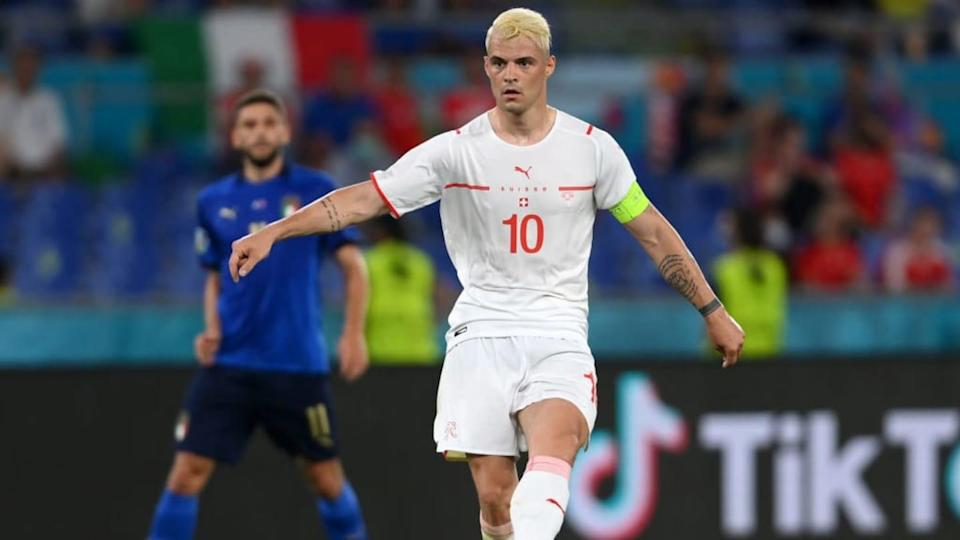 Xhaka contro l'Italia a Euro 2020 | Mike Hewitt/Getty Images