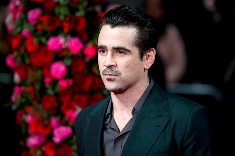 Colin Farrell arrives at the New York premiere of new film 'A New York Winter's Tale': Getty Images