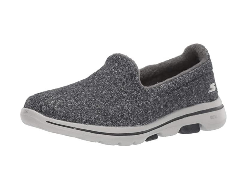 Skechers Women's Go Walk 5 - Wash-a-Wool Sneaker. Image via Amazon.