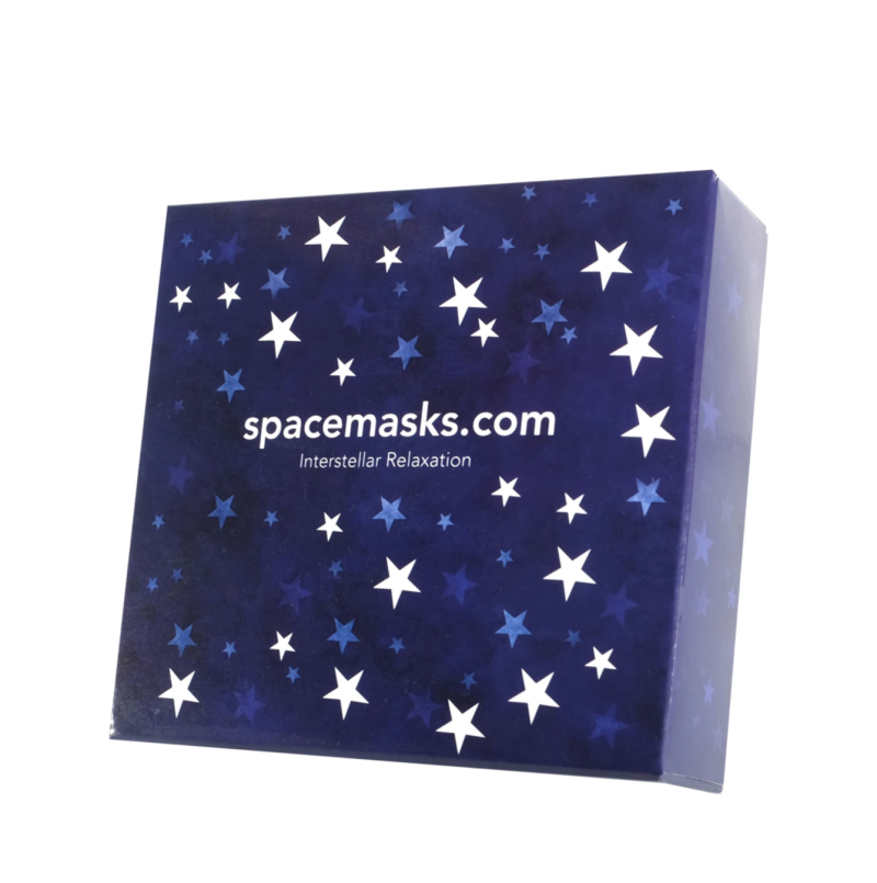 Spacemasks - Self Heating Eye Mask Box Set. Image via The Detox Market.
