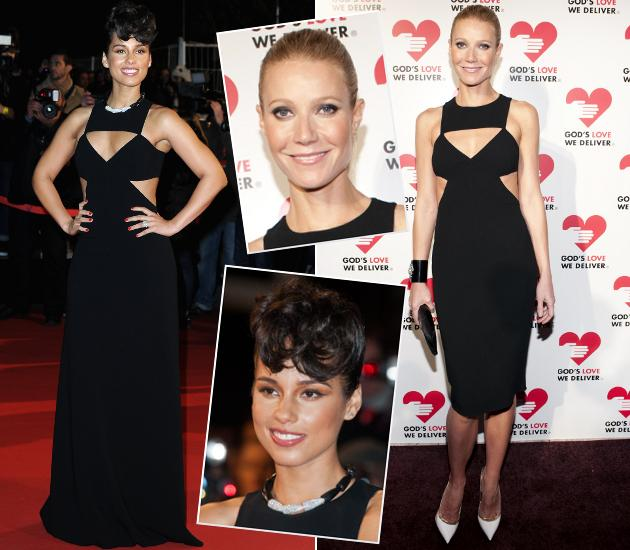 Gwyneth Paltrow und Alicia Keys im Fashion-Duell