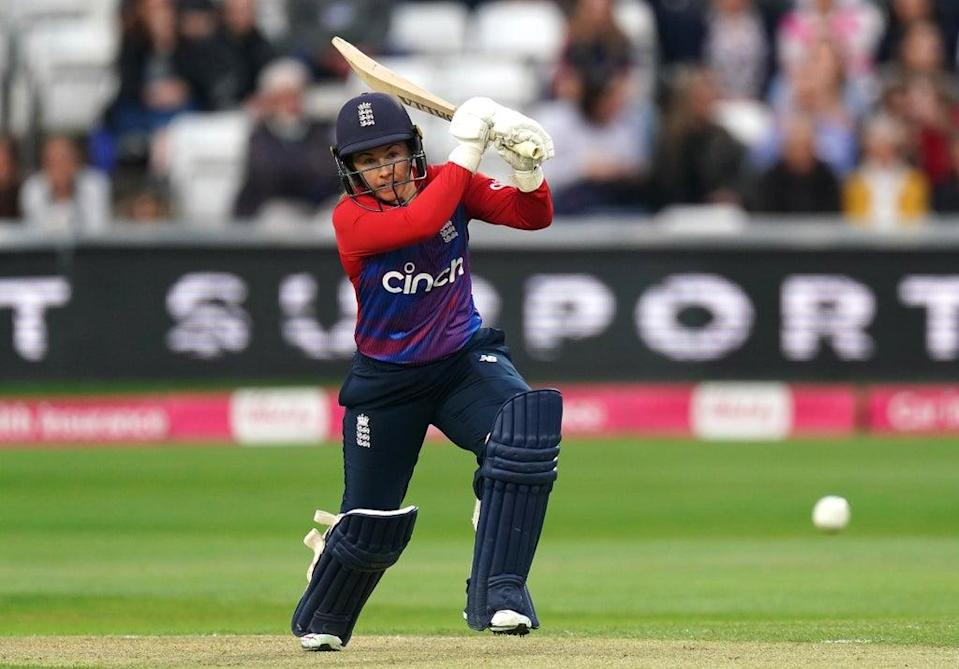 Tammy Beaumont hit 97 for England (Zac Goodwin/PA) (PA Wire)