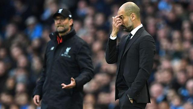 <p>Two of the world's greatest footballing tacticians collided on Sunday as Pep Guardiola's Manchester City took on Jurgen Klopp's Liverpool at the Etihad Stadium.</p> <br><p>The encounter was the perfect advert for the Premier League, with both sides playing with unrivalled levels of intensity.</p> <br><p>James Milner gave the visitors the lead from the penalty spot before Sergio Aguero equalised 15 minutes later in the 69th minute.</p> <br><p>Guardiola made the first tactical switch by brining off Yaya Toure for Bacary Sagna, a move that saw Fernandinho moved to the middle and Sagna out to right-back.</p> <br><p>But Klopp responded within minutes, brining off left-winger Philippe Coutinho for Divock Origi, who was allowed a free-role behind the striker.</p> <br><p>Guardiola attempted to nullify Klopp's change by substituting Leroy Sane for the defensive-minded midfielder Fernando, a decision that prompted Klopp to do the same by taking Roberto Firmino off for Lucas Leiva.</p> <br><p>All in all, a 1-1 draw was probably a fair result, but Aguero and Lallana will undoubtedly be kicking themselves for missing a pair of guilt-edged opportunities.</p>