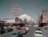 <p>By 1954, over 8 million people were visiting Las Vegas every year, resulting in around $200 million being spent at casinos.</p>