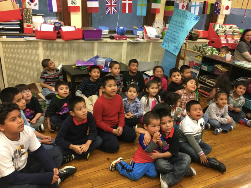 Kids in the Casa San Jose community participate in an after-school program at Beechwood Elementary in 2015. (Casa San Jose)