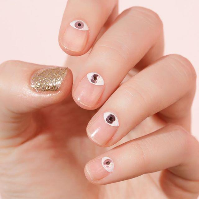 "<p>Why not make your nail beds into cute little eyes? And a bonus? They're perfect for transitioning from day to night </p><p><a href=""https://www.instagram.com/p/BsI-CTClzsg/?utm_source=ig_embed&utm_campaign=loading"" rel=""nofollow noopener"" target=""_blank"" data-ylk=""slk:See the original post on Instagram"" class=""link rapid-noclick-resp"">See the original post on Instagram</a></p>"