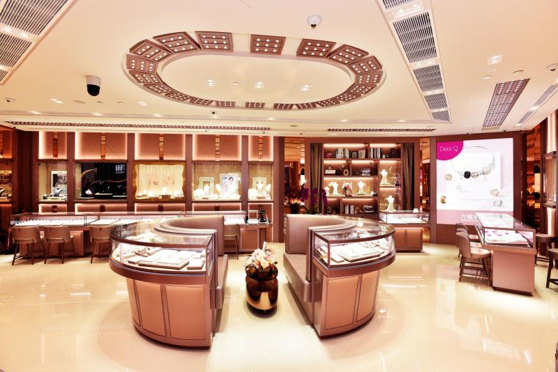 Lukfook Jewellery ION Orchard Store Lounge area. (PHOTO: Lukfook)
