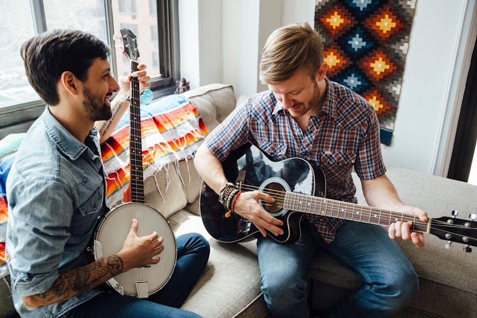 <p>If you've got talent, whip out your musical instrument (emphasis on musical) and play a solo, or see if your date has skills to share. If not, there are always lessons on YouTube.</p>