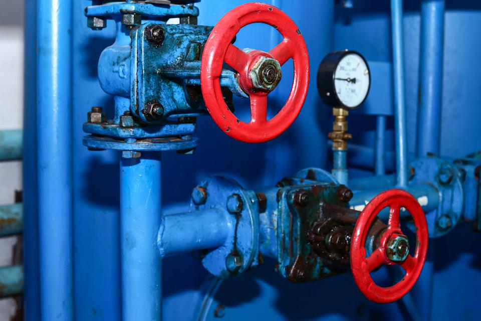 Gas boiler room equipment, heating of industrial and residential facilities