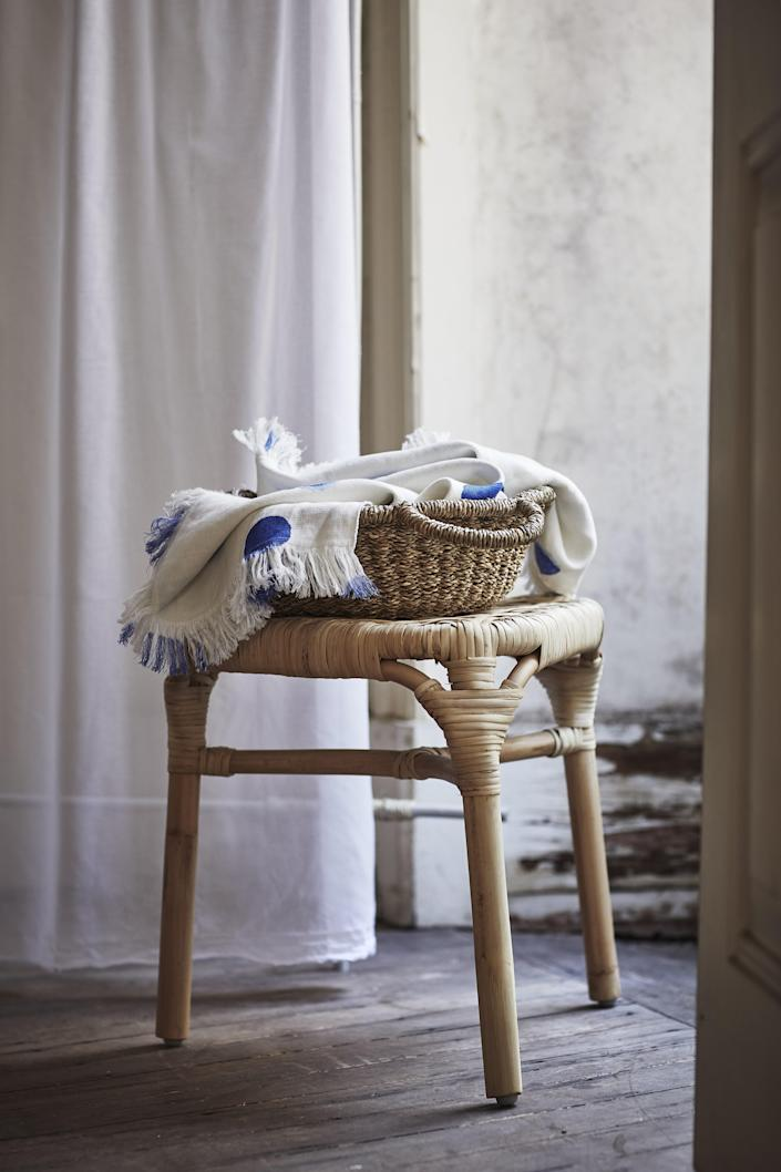 """This stool is the perfect bedside addition. Because what city dweller can <em>really</em> fit a full-size nightstand in their bedroom? <a rel=""""nofollow noopener"""" href=""""https://www.ikea.com/"""" target=""""_blank"""" data-ylk=""""slk:SHOP NOW"""" class=""""link rapid-noclick-resp"""">SHOP NOW</a>: TÄNKVÄRD Stool by IKEA, $39, ikea.com."""