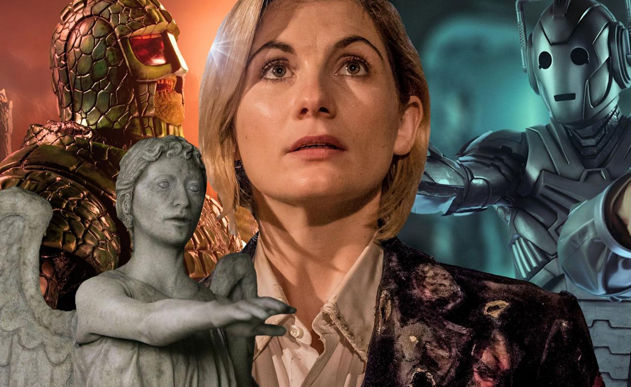 "<p>Though we were promised a series of <em>Doctor Who</em> <a rel=""nofollow"" href=""https://www.digitalspy.com/tv/a861756/doctor-who-series-11-has-all-new-monsters/"">with all-new monsters</a>, showrunner Chris Chibnall couldn't resist bringing back the Time Lord's most famous foe, the Daleks, in the New Year's Day special '<a rel=""nofollow"" href=""https://www.digitalspy.com/tv/a25625141/doctor-who-resolution-review-daleks-new-years-day/"">Resolution</a>'. ""It's the first encounter for Jodie [Whittaker] with that iconic monster and we knew we wanted to do that as the climax of the first series,"" he explained. Of course, now the question on all fans' lips is now... who's next? Here at <strong>Digital Spy</strong>, we've compiled a list of the Doctor's most persistent enemies (so any menace that's appeared in at least three stories) and ranked them from 'extreme long shot' to 'practically a dead cert to appear in <a rel=""nofollow"" href=""https://www.digitalspy.com/tv/cult/a866359/doctor-who-season-12-premiere-cast-air-date-release-date-trailer-2019/"">series 12</a>'.</p>"