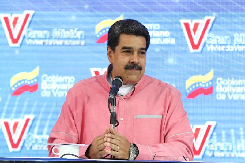"""The government of President Nicolas Maduro expressed gratitude to Norway and its support for """"dialogue,"""" after Maduro said Communications Minister Jorge Rodriguez was """"on a very important mission for peace"""" in Europe"""