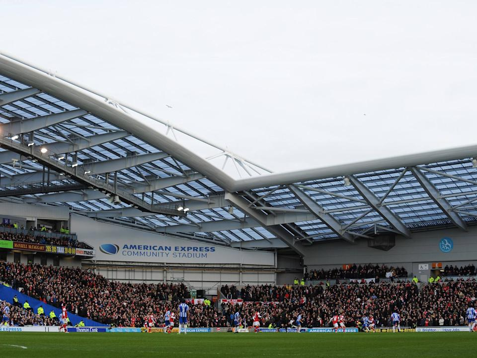 <p>The Premier League is working to increase the number of fans allowed</p>
