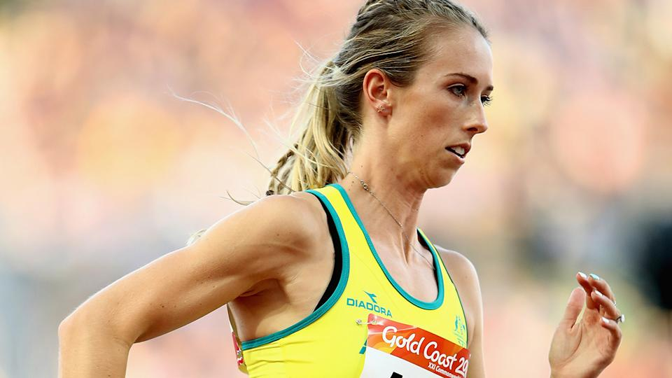 Olympic 400m runner Anneliese Rubie was slightly perplexed by the Queensland government's decision to allow NRL clubs into the state while not granting similar exemptions to Olympic athletes. (Photo by Cameron Spencer/Getty Images)