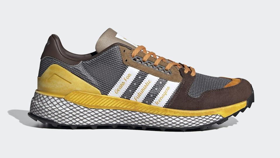 The lateral side of the Human Made x Adidas Questar. - Credit: Courtesy of Adidas