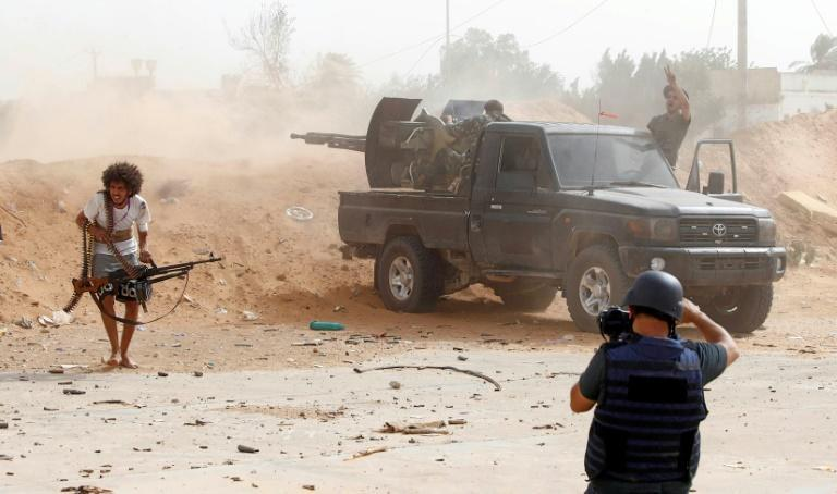 Libya has been torn by fighting between rival armed factions since a 2011 NATO-backed uprising killed dictator Moamer Kadhafi and toppled his regime (AFP Photo/Mahmud TURKIA)