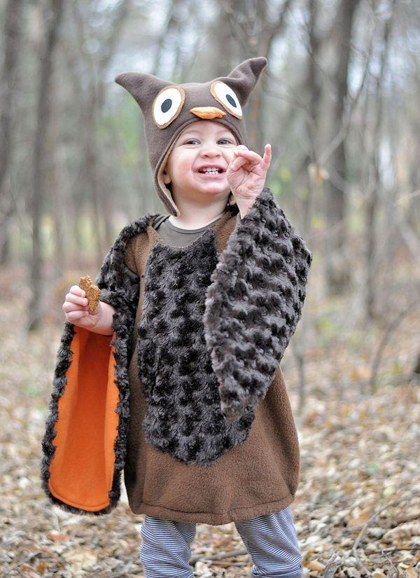 """<p><em>Whoooo</em> wouldn't love to see a toddler dressed as a snuggly owl this Halloween?</p><p><strong>Get the tutorial at <a href=""""http://www.thisheartofmineblog.com/2012/10/30/a-hooty-halloween/"""" rel=""""nofollow noopener"""" target=""""_blank"""" data-ylk=""""slk:This Heart of Mine"""" class=""""link rapid-noclick-resp"""">This Heart of Mine</a>.</strong></p><p><strong><a class=""""link rapid-noclick-resp"""" href=""""https://www.amazon.com/Fleece-Blanket-Solid-Fabric-Brown/dp/B00E6GIJ52/?tag=syn-yahoo-20&ascsubtag=%5Bartid%7C10050.g.4975%5Bsrc%7Cyahoo-us"""" rel=""""nofollow noopener"""" target=""""_blank"""" data-ylk=""""slk:SHOP BROWN FLEECE"""">SHOP BROWN FLEECE</a></strong></p>"""