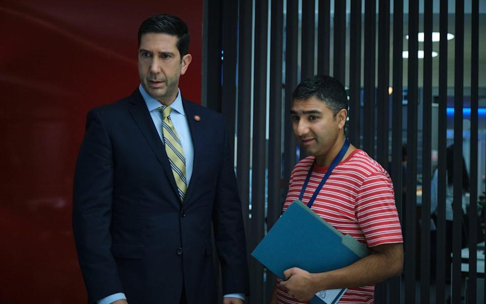 David Schwimmer and Nick Mohammed star in Intelligence - Sky