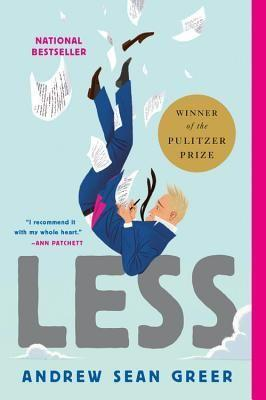 """<p><strong>Andrew Sean Greer</strong></p><p>bookshop.org</p><p><strong>$14.71</strong></p><p><a href=""""https://bookshop.org/books/less/9780316316132?aid=485"""" rel=""""nofollow noopener"""" target=""""_blank"""" data-ylk=""""slk:Shop Now"""" class=""""link rapid-noclick-resp"""">Shop Now</a></p><p>This Pulitzer Prize-winning novel follows a struggling novelist as he travels the world to avoid attending a wedding that would be far too awkward to show up at. This love story is full of bumps and mishaps along the journey that make it a fun read, but one that is much deeper than any old jaunt around the world. </p>"""