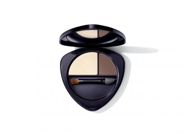 """The """"Eyeshadow Palette Duo 01"""" from Dr. Hauschka's new limited-edition makeup collection"""