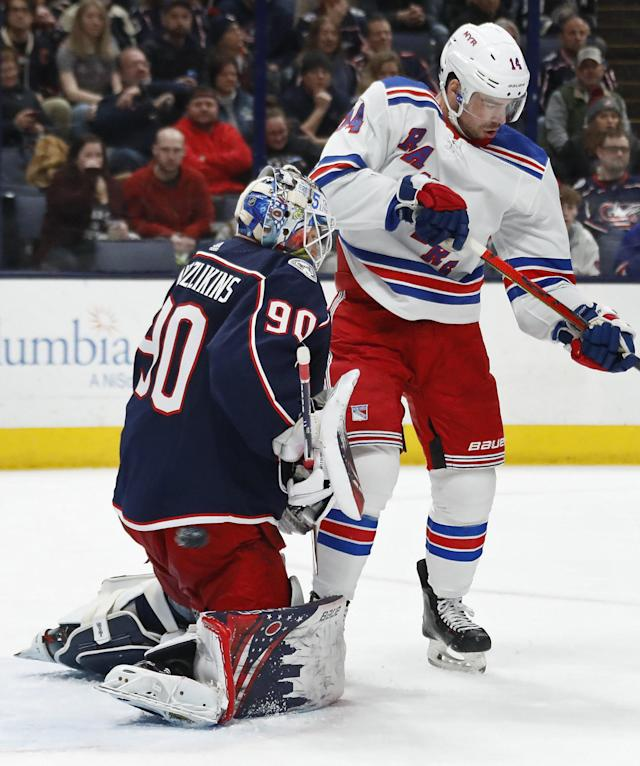 Blue Jackets' Elvis Merzlikins, Joonas Korpisalo need to shed rust after layoff
